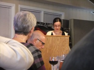 Bronte Cronsberry reads from her Short Story.